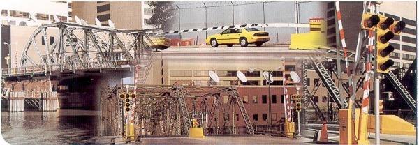 Bridge barrier gates edko